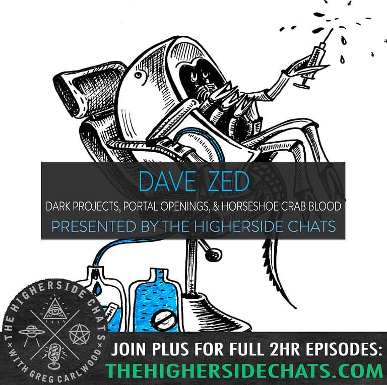 Dave Generation Zed Interview on Conspiracy Podcast Higherside Chats