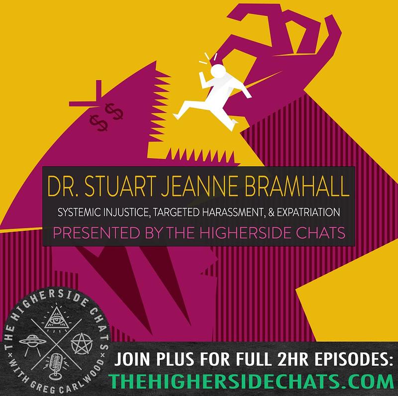 Dr Stuart Jeanne Bramhall Injustice Expatriation