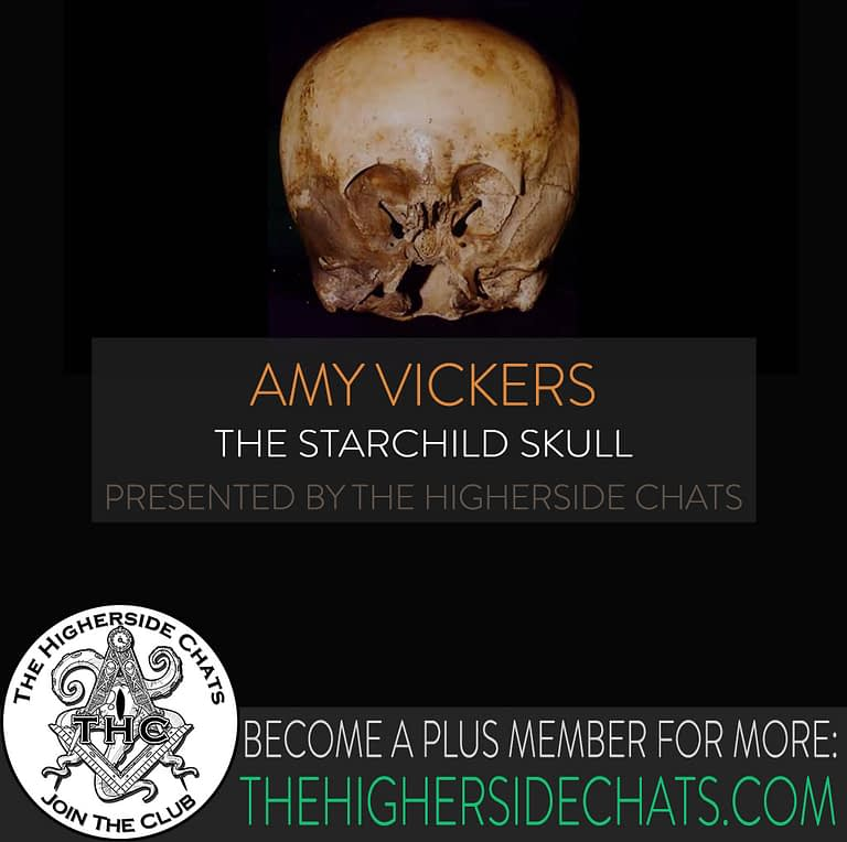 Amy Vickers Starchild Skull on The Higherside Chats podcast