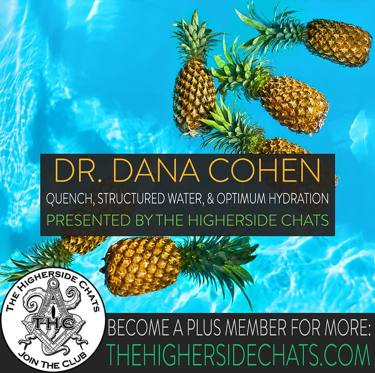 Dr Dana Cohen Quench and Structured Water on The Higherside Chats Podcast