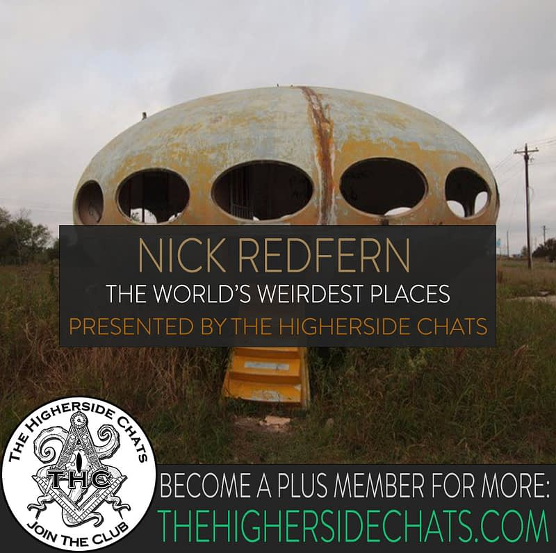 Nick Redfern Interview on The Higherside Chats Podcast