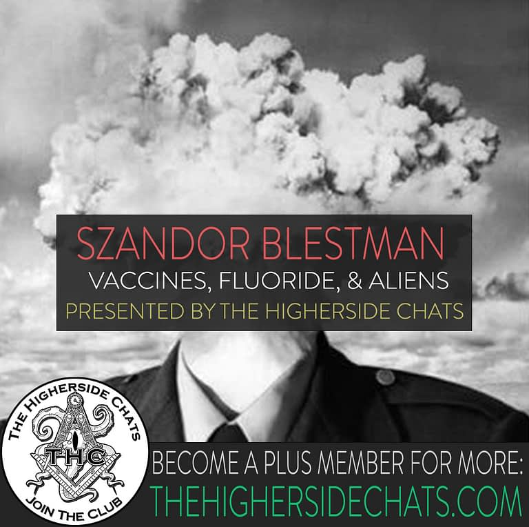 Szandor Blestman on The Higherside Chats podcast