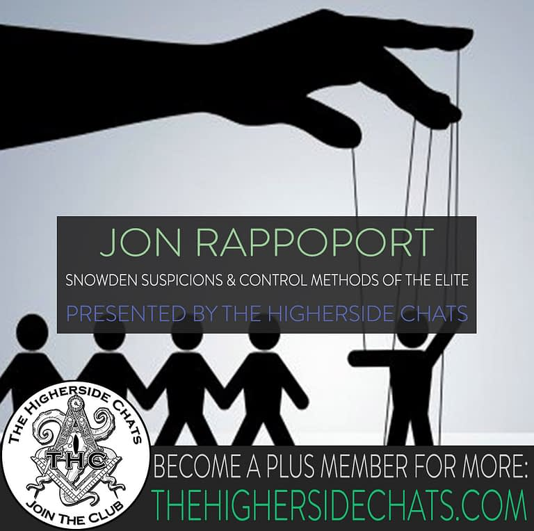 Jon Rappoport Interview on The Higherside Chats Podcast