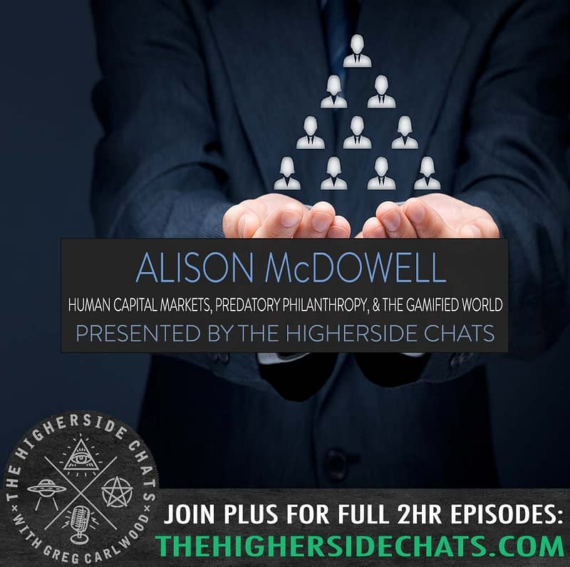 Alison MCDowell Technocracy Wrench In The Gears Interview on The Higherside Chats Podcast