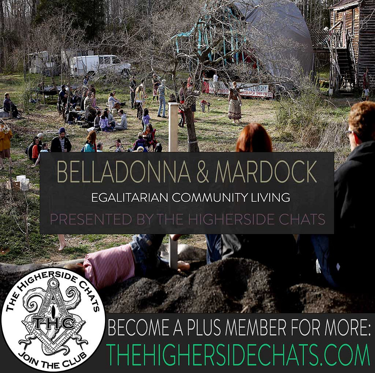 BellaDonna Acorn Community Living Interview on The Higherside Chats Podcast